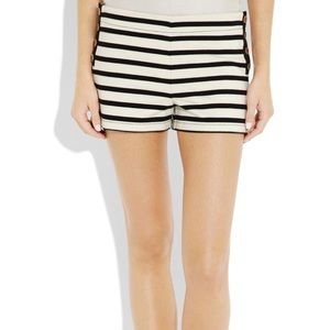 Juicy Couture Breton fleece stripe shorts